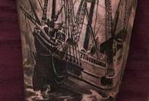 tatuagem barco