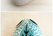 Ideas-paint stones