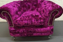 The Exclusive Sofa Collection / Love Crushed Velvet? Exclusive to HOS! The Luxury Exclusive Sofa Collection.. All our sofa's are hand-made in the UK with the UK's number 1 crushed velvet fabric!  Add a touch of elegance to your home.. want this look? Call us today on 0118 912 1090