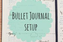 Bullet / Reminders, To Do journals