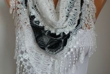 Scarf Inspirations (not knits) / Scarves not knitted or crocheted / by Julianne Weight