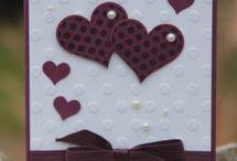 Herz Karte zur Hochzeit