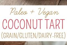 Gluten and vegan free cakes and tarts