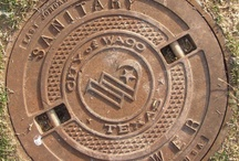 Manhole Covers & Metalwork / by Diane Dorr