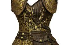 kostymy historicke, steampunk, metal, gothic