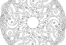 Mandala, Doodle & coloring