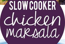 Recipes slow cooked