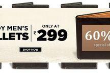 Men wallet / Meandmygifts is offering exclusive discount on Men wallet of Top Brand wallet. Get Men Bata Wallet at Flat 60% off starting from Rs 299. order now http://goo.gl/UUQlYg
