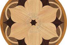 Ozdoba skříněk-dřevo