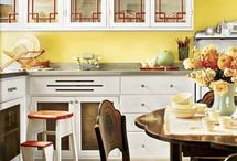 Vintage Kitchen Ideas / From Vintage Unscripted