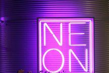 #N E O N# boards - signs