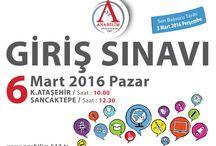 GİRİŞ SINAVI 2016 / #Anabilim Eğitim Kurumları Giriş #Sınavı son başvuru 3 Mart 2016