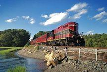 Cape Cod Central Railroad / Part of the Premier Rail Collection, the Cape Cod Central Railroad is located in Hyannis, Massachusetts.