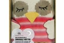 Owl hot water bottle