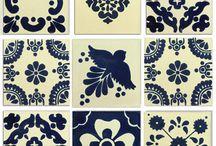 mexican tile motifs