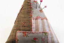 Fabric/Fiber/Sewing - Pincushions / Oh I love Pincushions!! / by Ruth Root