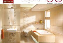 Színek: KRÉM fürdőszobák / krém, világos színű fürdőszobák