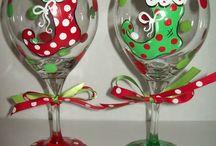 copas de navidad