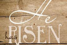 He has Risen ! / by Linda Hoffman Seitz