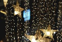 star decorations / ideas for reception decorating