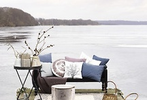 Lazy by the water / Beautiful river or lake sides,