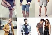 Hipster Men summer fashion