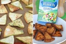 Back to School Lunches & Snacks / Put a twist on after school snacks and everyday lunches with these stress-free recipes!  / by Hidden Valley