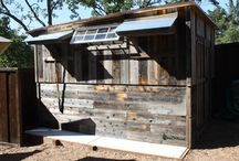 Green Sheds / Custom structures in your backyard using recycled materials, Offices, Studios, Guest Quarters, etc.