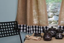 Ideas-Burlap / There are a lot of cool burlap projects out there!