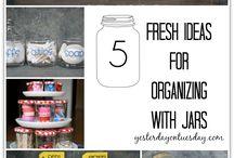 Organising and Storage