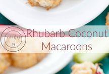 Coconut macaroons cookies