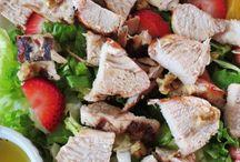 Fresh Salads / by Imelda Bratton Wallace