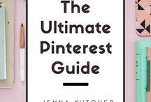 Pinterest Marketing / Pinterest marketing tips and strategies for small business creative entrepreneurs.