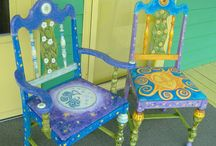 Hand Painted Chairs / by Distinctive Artistry