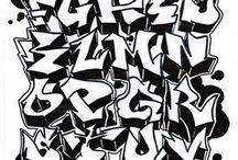 Alfabeto de graffiti/pixo