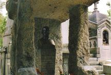 Cimetières. Tombes. Caveaux, Tombeaux, Colombarium. / by Guy Combes