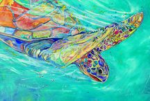 sea turtle gifts by artist Jen Callahan ©