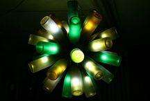 Aproveitando garrafas de vinho - Recycling wine bottles