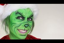christmas face painting / by Kristen Peden