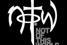 Not of This World - NOTW / NOTW is a clothing and accessories line for men and women that is carried by Mardel. NOTW products remind us that, like Christ, we are Not of This World.