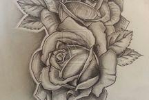 Tatuaże róże