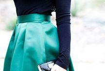 sininen ja vihreä
