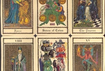 tarots and cards