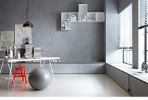 Work Places / Oficinas, espacios de trabajo, taller, estudio / by Sandra Sotomayor