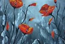 For the Love of Poppies / If you love poppies, and everything to do with poppies. Plenty of original paintings, drawings and limited edition prints on poppies.