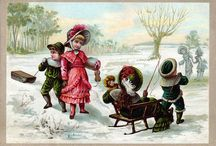 Victorian Children / A collection of images of Victorian children which I use to make greeting cards, fabric blocks, and more! / by KatyDids Cards