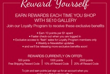 Loyalty Program / Join the SE10 Gallery Loyalty Program to receive exclusive benefits. http://www.se10gallery.com.au/pages/member-benefits #loyalty #shopping #rewards #homewares