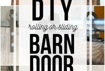 Barn door DIY