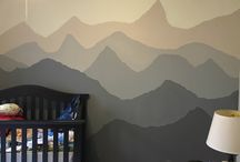 Mountain Themed Boy Nursery