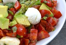 Fast and fresh / Quick prep salads and meal ideas